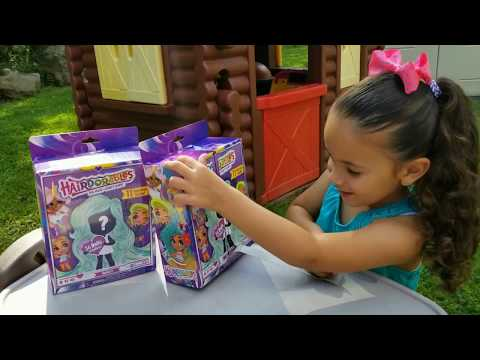HAIRDORABLES Dolls! NEW Surprise Blind Box Unboxing