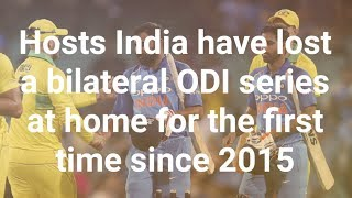 India vs Australia 5th ODI Highlights : Australia pocket series 2-3 victory over India