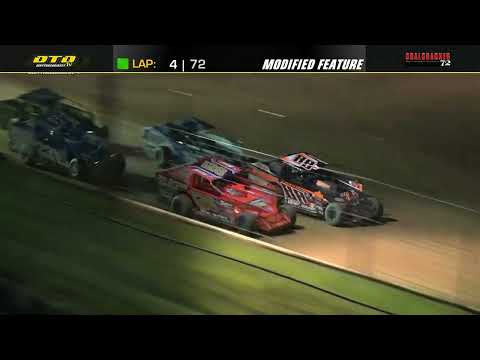 Big Diamond Speedway | Coalcracker 72 Modified Highlights | 9/6/21 - dirt track racing video image