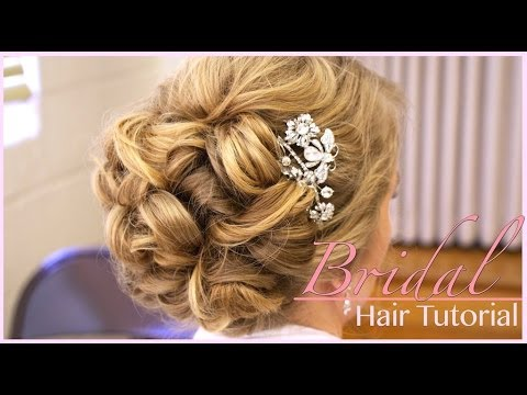 Classic Bridal Updo: Hair Style Tutorial - UC-iX0d2u4vAg_LXBe4xKklQ