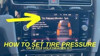 Reset spia pressione Pneumatici Golf 7