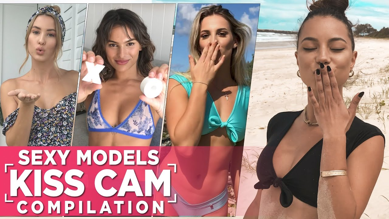 Sexy Wicked Weasel Models Kiss Cam Compilation Video!