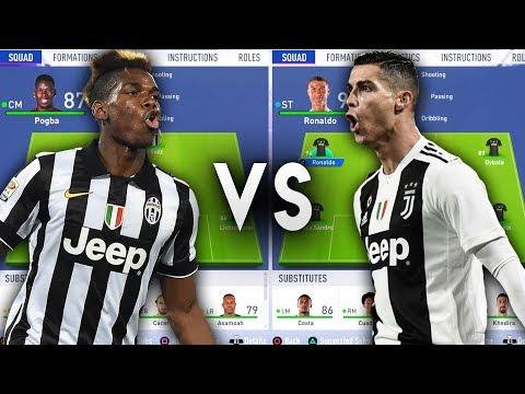 Paul Pogba's Juventus VS Ronaldo's Juventus - FIFA 19 Experiment