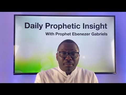Prophetic Insight Feb 3rd, 2021