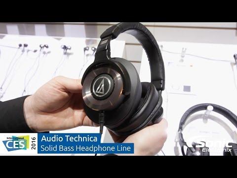 Audio Technica Solid Bass Headphones   CES 2016 - UCl76vrtVLcPPnOSIHVs8HMg
