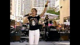 Sheryl Crow - Everyday is a winding road on Today Show 1999