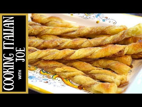 Delicious Cinnamon Puff Pastry Twists Cooking Italain with Joe - UCmwf656_nAjxFGxfC6Yw0QQ