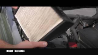 Cambio filtro aria Mercedes Classe C W203