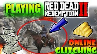 GLITCHES + EXPLIOTS +  SHOWDOWNS + MORE ON RED DEAD ONLINE LIVE WITH SILENT NINE!!