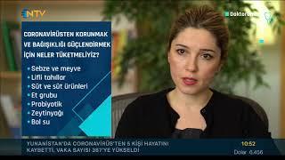 Dyt. Tuba Örnek - Coronavirüs'ten korunmak için neler tüketmeliyiz? - NTV