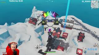 FORTNTIE SEASON X THE LEFTOVERS SEARCH CHEST AT SALTY SPRINGS OR FROSTY FLIGHTS