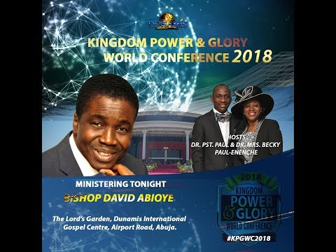 DAVID ABIOYE MINISTERED @ THE GLORY DOME