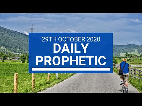 Daily Prophetic 29 October  2020 2 of 9 Daily Prophetic Word