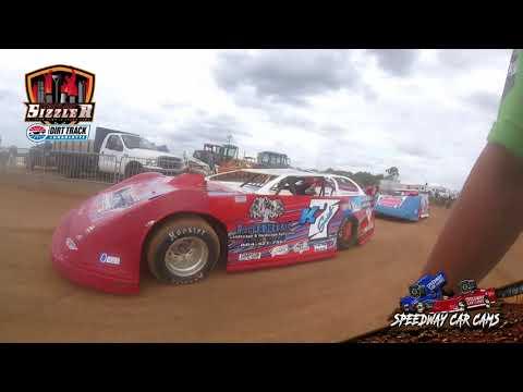 #K7 Keaton Smith - 602 Late Model - Carolina Sizzler 7-18-21 - In-Car Camera - dirt track racing video image