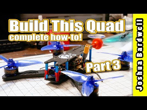 Learn To Build a Racing Drone - Part 3 - Install Motors and ESCs - UCX3eufnI7A2I7IkKHZn8KSQ