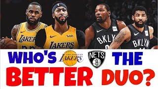 LeBron & AD vs. Durant & Irving | Matchup Prediction