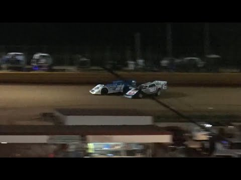 602 Late Model at Lavonia Speedway August 13th 2021 - dirt track racing video image