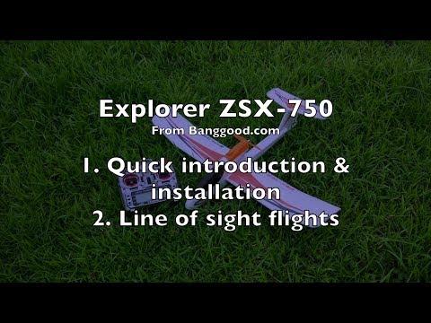 Explorer ZSX-750 RC Plane - Part 1/2 - UCWgbhB7NaamgkTRSqmN3cnw