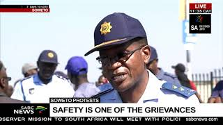 Soweto protests | Safety is one of the grievances