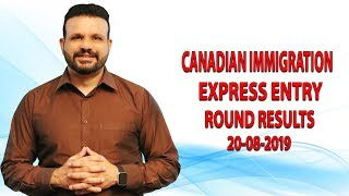Express Entry Round Results (20 August 2019)