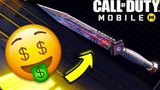 I Bought a $50 Knife on Call of Duty Mobile... 🤑 | Call of Duty Mobile Gameplay (COD Mobile)