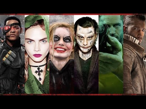 This Is What the Suicide Squad Might Look Like - UCKy1dAqELo0zrOtPkf0eTMw