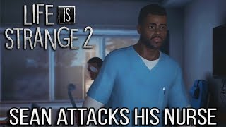 Life is Strange 2 EPISODE 4 Sean Attacks his Nurse to Escape the Hospital (#LiS2Ep4 Faith)