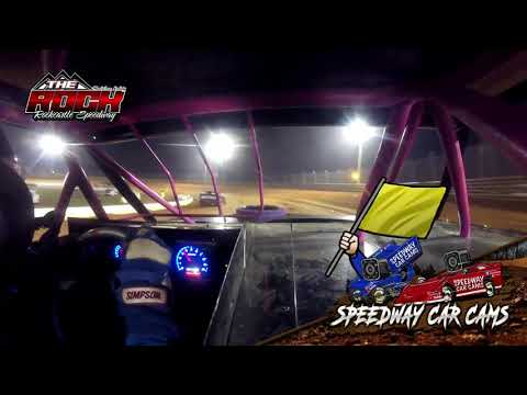 #23 Bryson Roberts - Mini Stock - 10-2-21 Rockcastle Speedway - In-Car Camera - dirt track racing video image