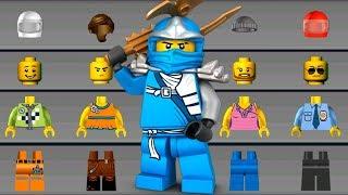 LEGO NINJAGO and BATMAN Build New Helicopter, Flying Car, LEGO Car - LEGO Juniors Create & Cruise