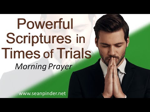 POWERFUL SCRIPTURES IN TIMES OF TRIALS - PSALM 27 - MORNING PRAYER  PASTOR SEAN PINDER (video)