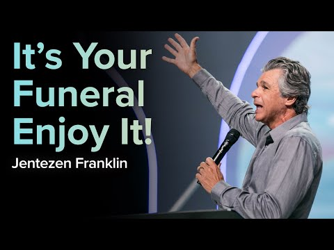 Its Your Funeral - Enjoy It!  Water Baptisms  Pastor Jentezen Franklin