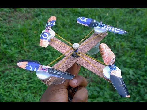 Wow! How to Make A Drone With One Motor and four Blades. - UC0MZgmbLjg9phJQVzsytUJw