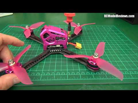 Mini-review: GT 220mm Fire Dancer FPV racing drone (BNF) from GearBest.com - UCahqHsTaADV8MMmj2D5i1Vw