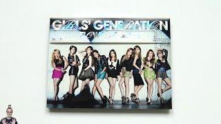 [ASMR] Unboxing Girls' Generation 6th Japanese Single Album FLOWER POWER