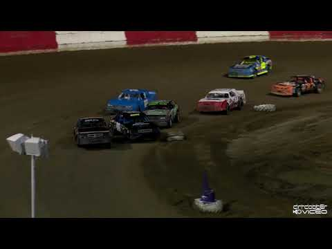 V8 Warriors Feature-East Bay Raceway Park 8/7/21 - dirt track racing video image