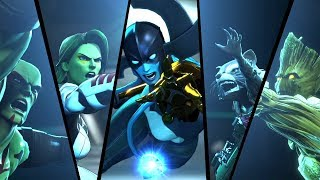 Guardians of the Galaxy and the Infinity Stones Scene (MARVEL ULTIMATE ALLIANCE 3)