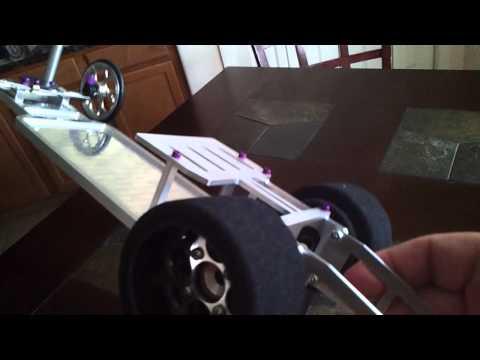 """(UPDATE) Custom 9"""" Aluminum RC Drag Car - default"""