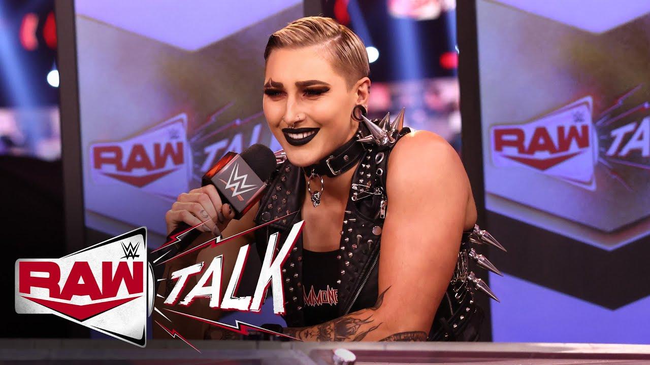 Rhea Ripley reflects on Raw debut: Raw Talk, Mar. 22, 2021