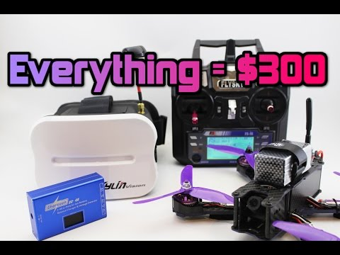How to get FPV DRONE RACING for under $300! Parts +Full setup. - UC3ioIOr3tH6Yz8qzr418R-g