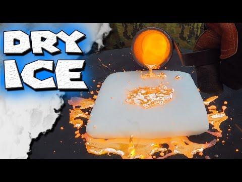 Molten Copper vs Dry Ice - UC0k9PfNjEkzISBnSk43mzvQ