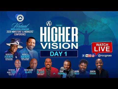 RCCGNA MINISTERS/WORKERS CONFERENCE 2020 - HIGHER VISION