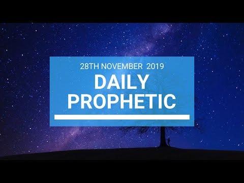 Daily Prophetic 28 November Word 1