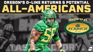 Oregon's Offensive Line returns 5 potential All-Americans | PFF