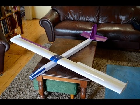 Cheap RC Foam Plane Transjoy 6211 Glider Review Flight