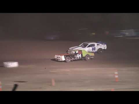 Bullet Stock Feature Race at Silver Bullet Speedway, Michigan, on 06-27-2020! - dirt track racing video image