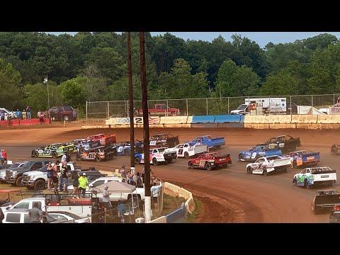 7/25/2021 CRUSA Street Stock Main Cherokee Speedway - dirt track racing video image