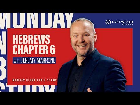 Hebrews 6  Lakewood Bible Study  Pastor Jeremy Marrone