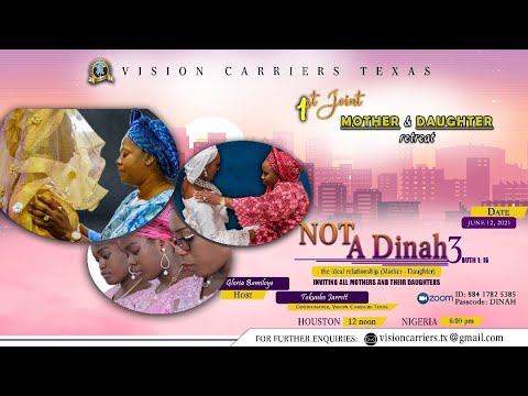 Vision Carriers Int'l Texas - Mothers and Daughters Retreat  Not A Dinah 3