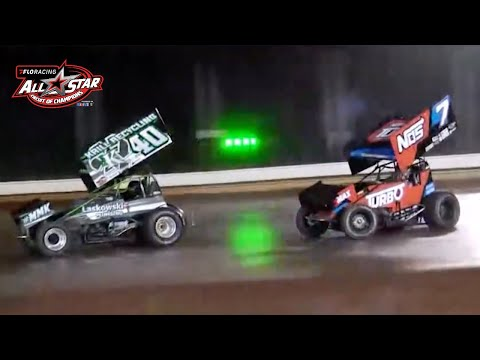 """FloRacing All Star Sprint Feature   """"Ohio Speedweek"""" at Sharon Speedway 6.15.2021 - dirt track racing video image"""