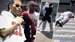 VIDEO Shows Rapper Future's Bodyguard Knocked Out Cold!